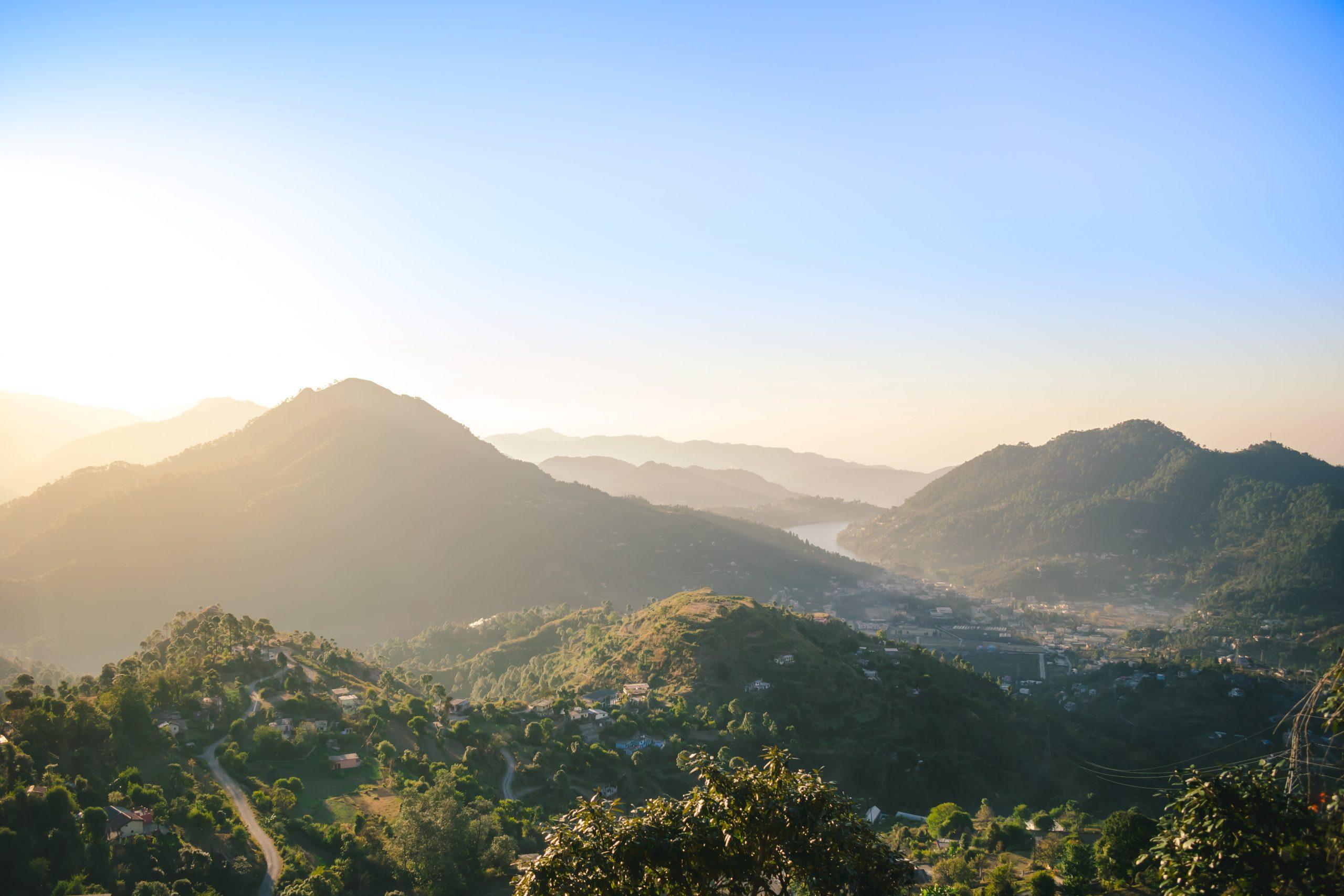 Mountain View in Uttarakhand