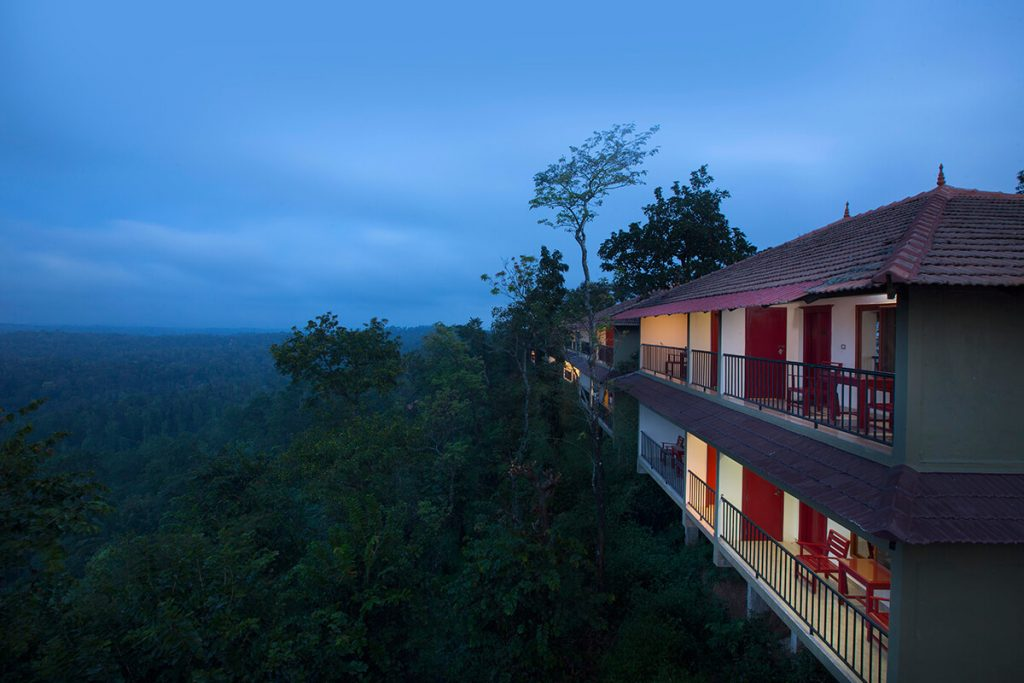 safe and sanitized Coorg Cliffs Resort and Spa for independence day getaway from Bangalore